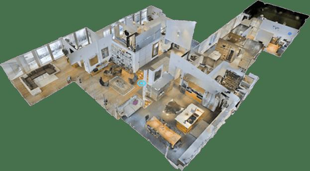3d rendering of a room